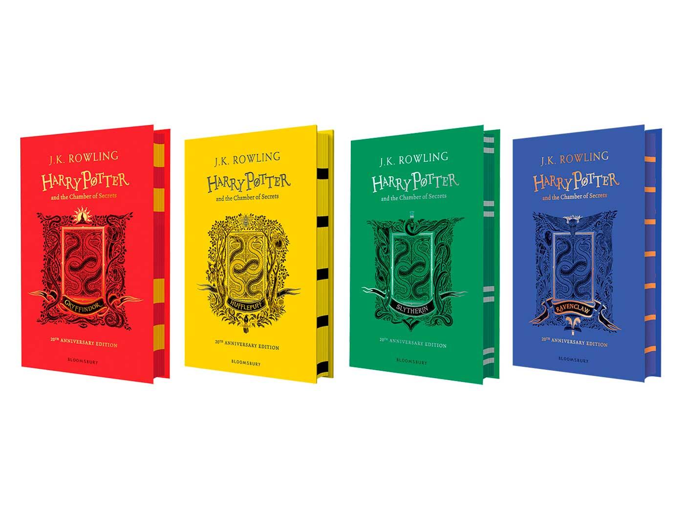 Edición 20° Aniversario Harry Potter y la Cámara Secreta