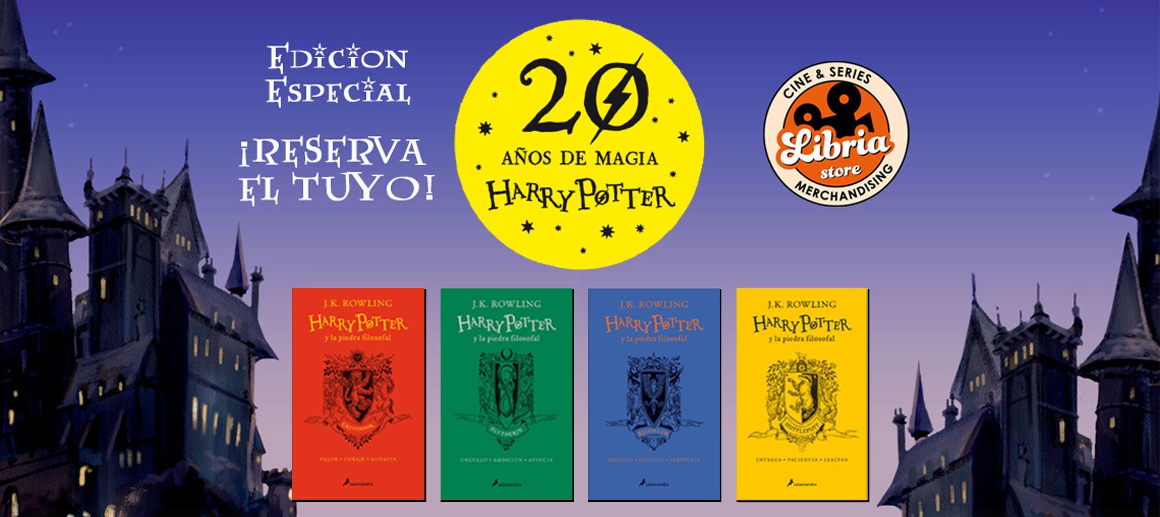 Edición Aniversario Harry Potter en español