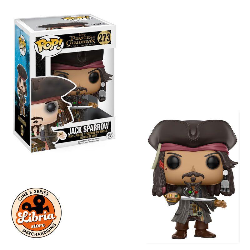 Figura FUNKO POP 273 JACK SPARROW Disney Piratas del Caribe