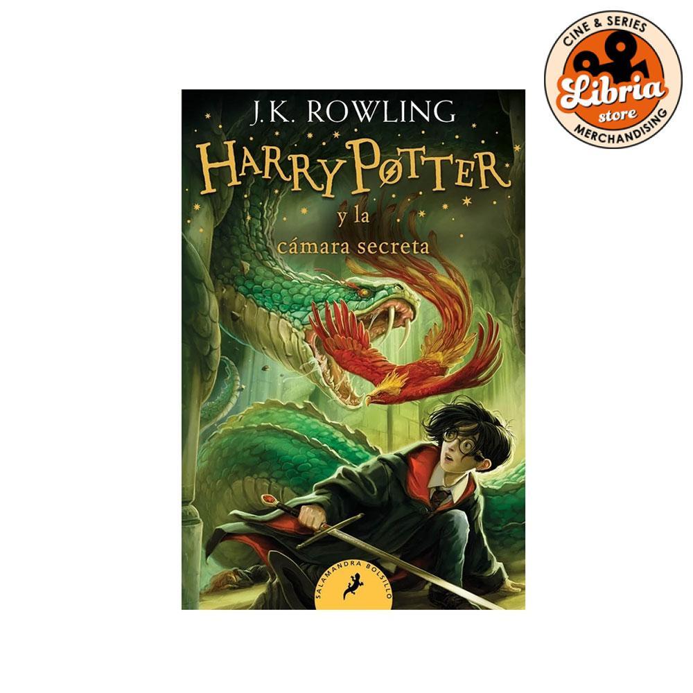 Harry Potter Y La Cámara Secreta Tapa Blanda De Bolsillo Libria Store